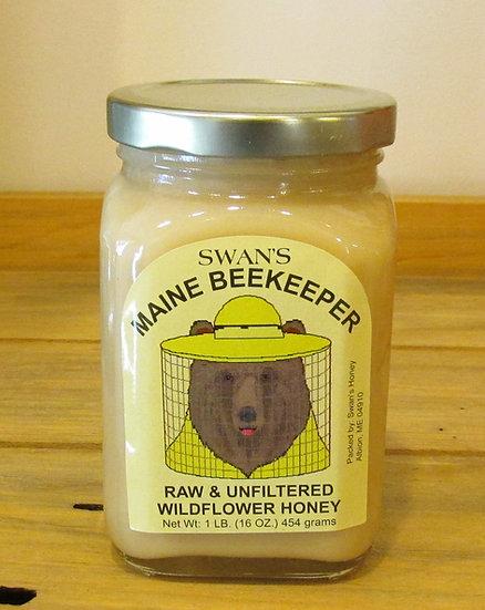 Raw & Unfiltered Wildflower Honey