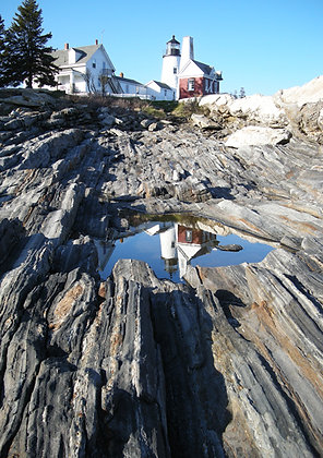 Pemaquid Light  with Reflection