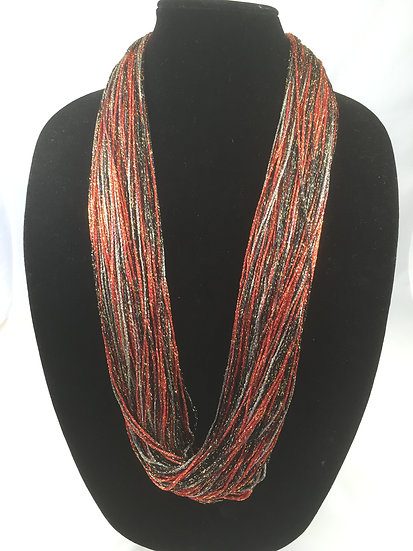 Ruby Shimmer Necklace