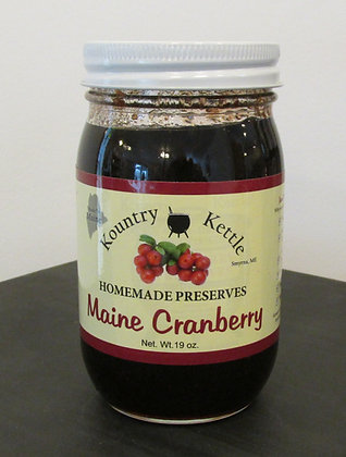 Cranberry Preserves by Artisan Kountry Kettle