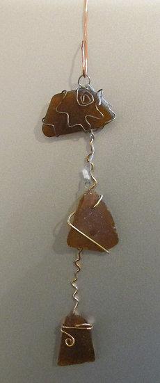 Seaglass  ornament