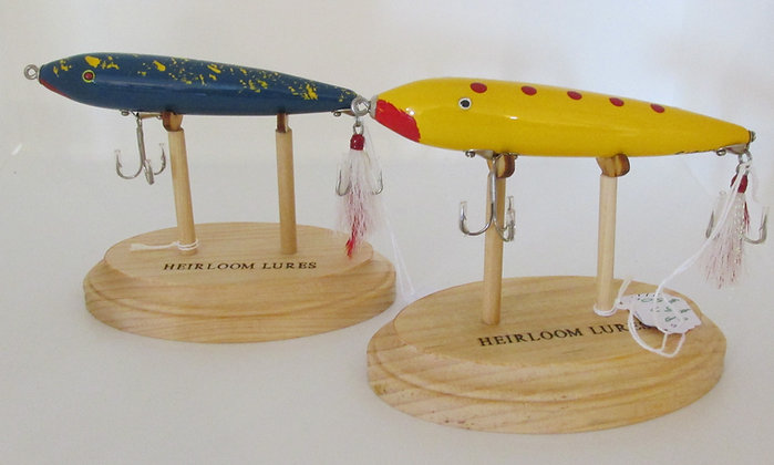 The Zaragossa, Hand Crafted Fish Lure by Artisan Chris Augustus