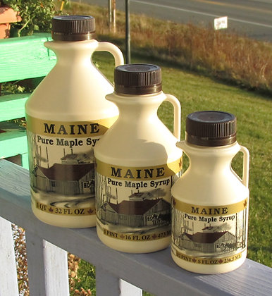 Maine Pure Maple Syrup by Artisan The Sugar Shack