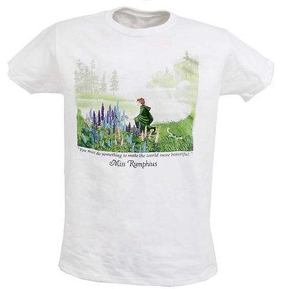 Youth Tshirt Miss Rumphius by Artisan Liberty Graphics