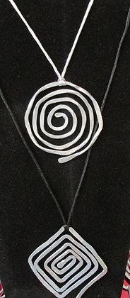 Handmade Aluminum Necklace by Artisan HarborLight Studio