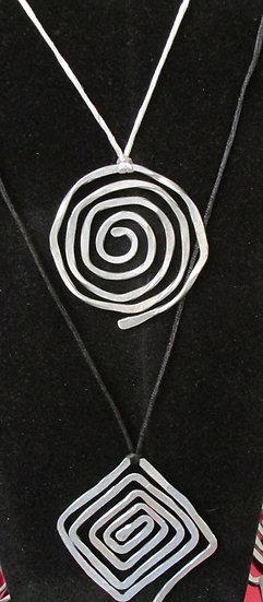 Handmade Aluminum Necklace