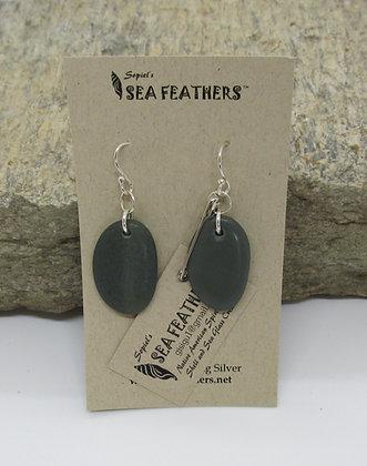 Agates Earrings by Artisan Sopiel's Sea Feathers