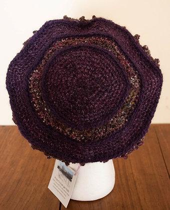 Purple Dream, Beret by Artisan Ann Kennedy