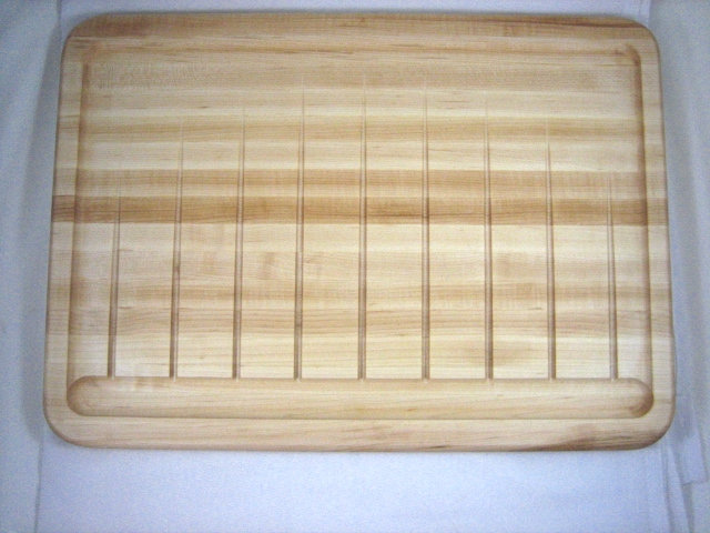 Maple Carving Board with Juice Grooves