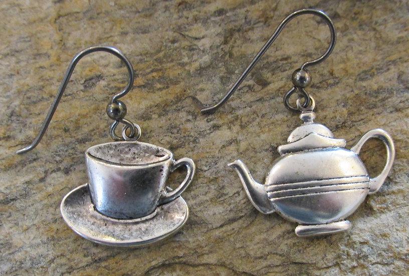 Tea Set Earrings