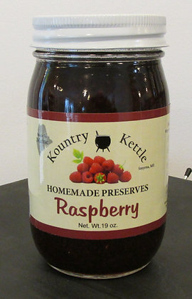 Red Raspberry Preserves by Artisan Kountry Kettle