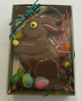 Chocolate Easter Bunny by Artisan Maine Gourmet Chocolate