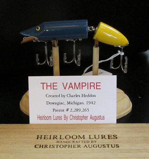 The Vampire, Hand Crafted Fish Lure