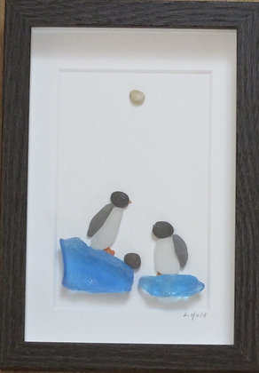 We can do this together,   Framed Wall Hanging by Artisan Lisa Holt