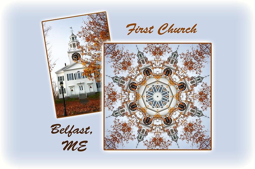 First Church Belfast Maine