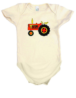 Tractor Onsie by Artisan Liberty Graphics