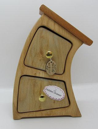 """""""Strech Sr."""" Bandsaw Box by Artisan Torie Patterson"""