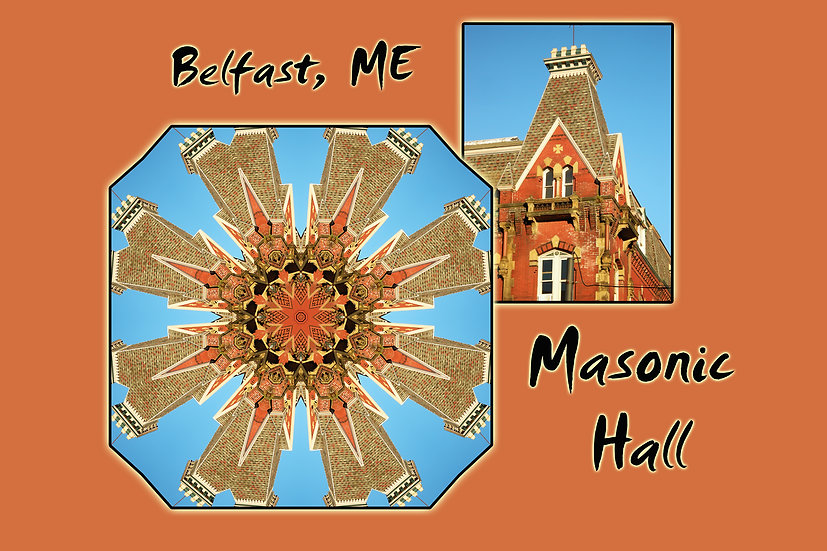 Masonic Hall Belfast Maine