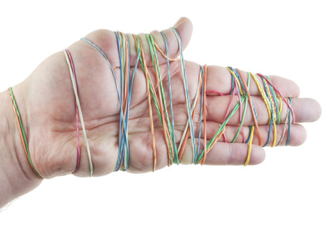 Man nearly strangles his penis to death with rubber bands