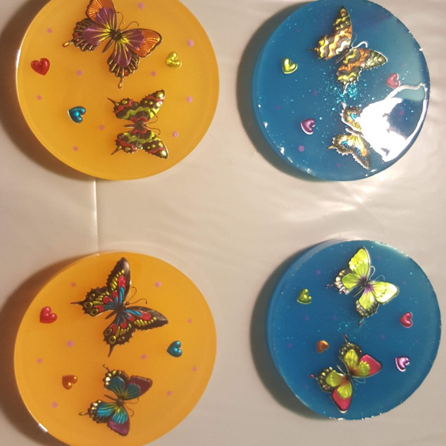 Butterflies Coaster