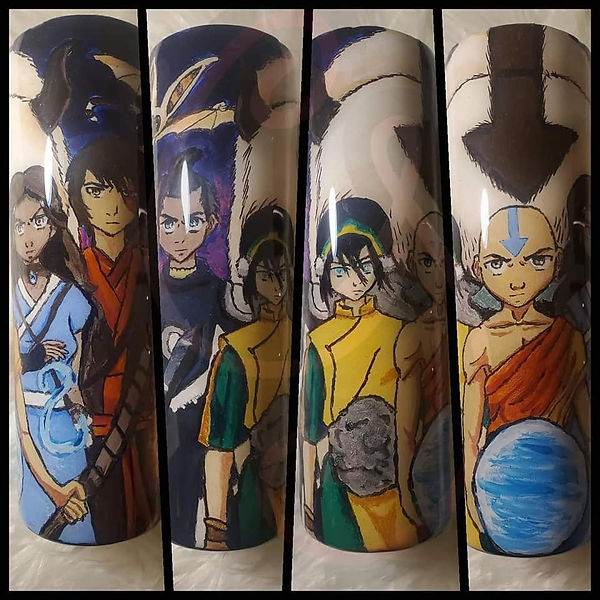 Avatar_ The Last Airbender Hand Painted