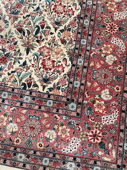 Pakistani Floral, Persian Qum Design
