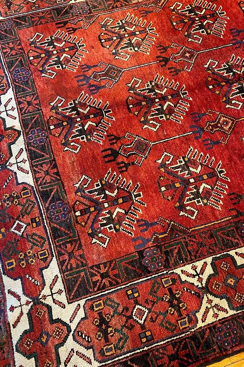 Persian Bakhtiari Runner, Light Distress