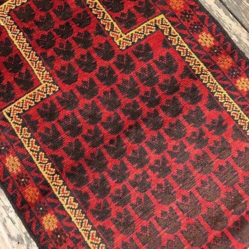 Afghan Herati Prayer Rug
