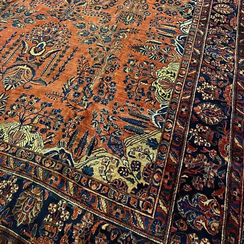 Persian Kashan - Distressed