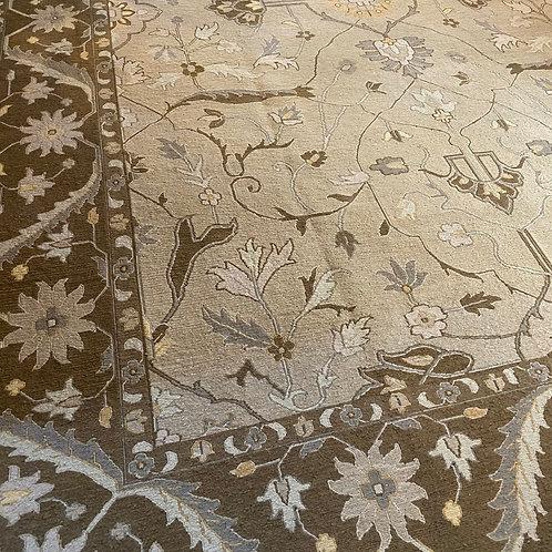 Turkish Kilim, Oushak Design