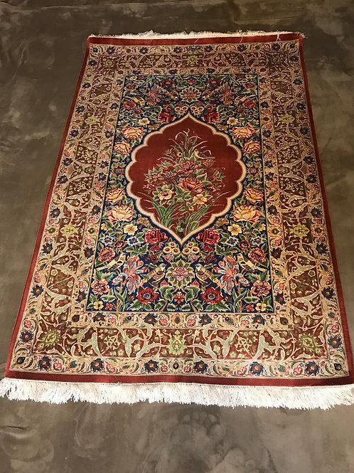 Persian Qom 100% Silk