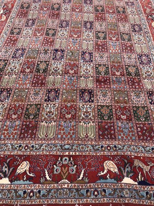 Persian Qum Weave Bakhtiari Design