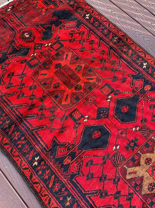 Persian Baluch, Zanjan Design, Slight Distress