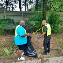 Hwy Cleanup Bro Clark and Bro D Grant.jp
