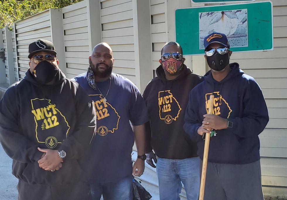 Hwy Cleanup Bro Holloway Bro Jackson Bro
