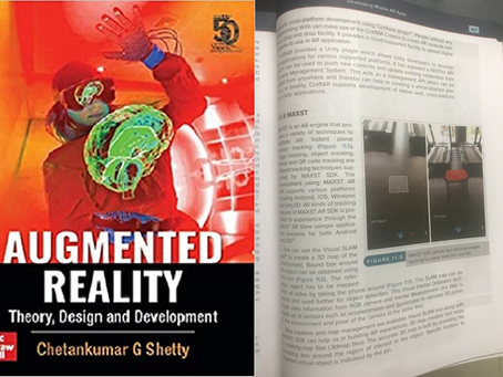 MAXST AR SDK Was Published in McGraw-Hill Textbook