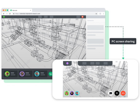 MAXST Releases MAXWORK 1.5, the industrial AR Service