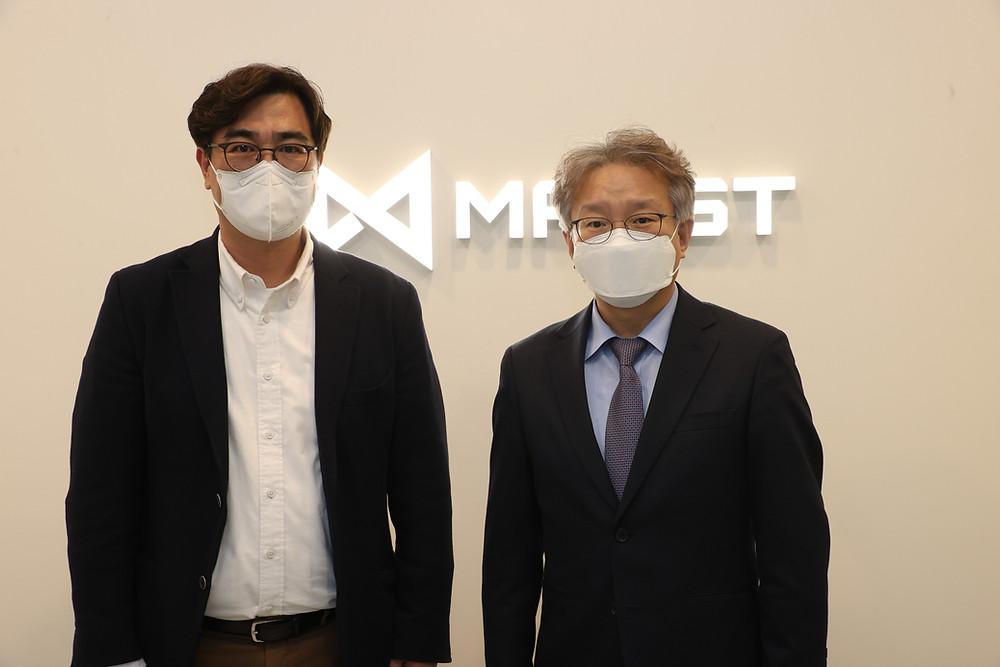 korean-smes-startups-minister-maxst-visiting