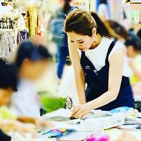 日曜は、_カナ先生とさいりちゃん先生と、_湘南モールフィルで夏休みワークショップ