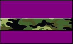 Purple Swallet Jungle Camo Band