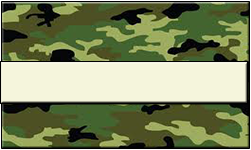Jungle Camo Swallet Beige Band