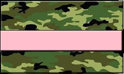 Jungle Camo Swallet Pink Band