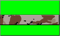 Lime Swallet Desert Camo Band