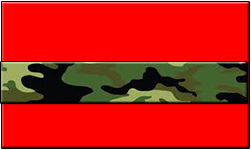 Red Swallet Jungle Camo Band