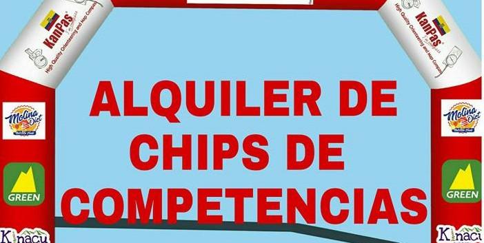 ALQUILER DE CHIPS DE CRONOMETRAJE