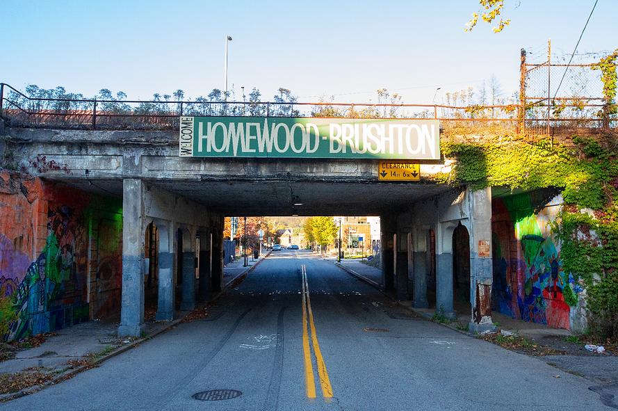Homewood Brushton Underpass