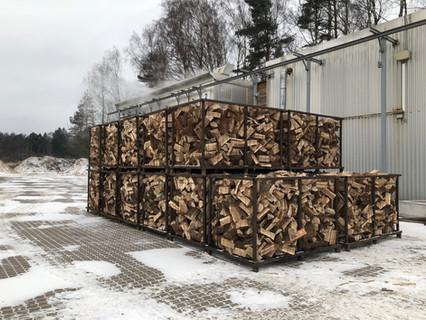 Metal mesh crates