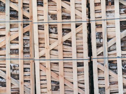 Crates with Birch - always a handy product