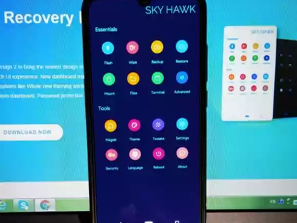 How to install SHRP / Sky Hawk  recovery for MI A3 android 10