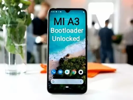 How to Unlock bootloader of  MI A3 phone.